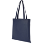 Navy promotional shopping bag