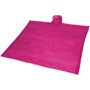 Ziva Disposable Poncho in pink