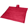 Ziva Disposable Poncho in red