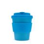 8oz Ecoffee cup in solid blue