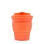 Orange 8oz reusable ecoffee cup