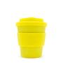 Yellow 8oz ECoffee travel mug