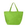 Non-woven shopper bag in green