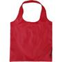 Foldaway shopper with loop handles in red