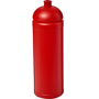 750ml sports bottle in solid red with matching dome lid