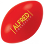 Rugby Ball Shape Stress Item Red