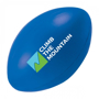 Rugby Ball Shape Stress Item Blue