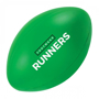Rugby Ball Shape Stress Item Green