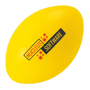 Rugby Ball Shape Stress Item Yellow