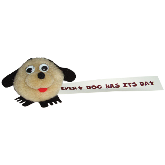 printed dog toy