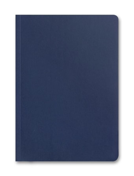 A5 ely eco flexi cover 100% biodegradable notebook in navy