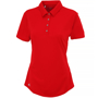 Adidas Women's Polo in red