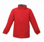 Men's Beauford Insulated Jacket in red