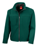 Men's Classic Softshell Jacket in green