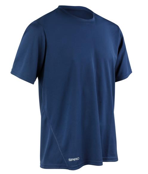 Men's Quick-Dry Short Sleeved in navy
