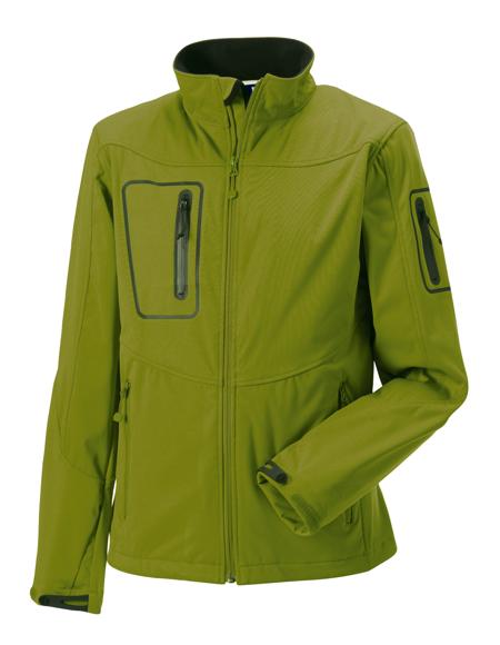 Men's Sports Softshell Jacket in green