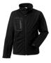 Men's Sports Softshell Jacket in black