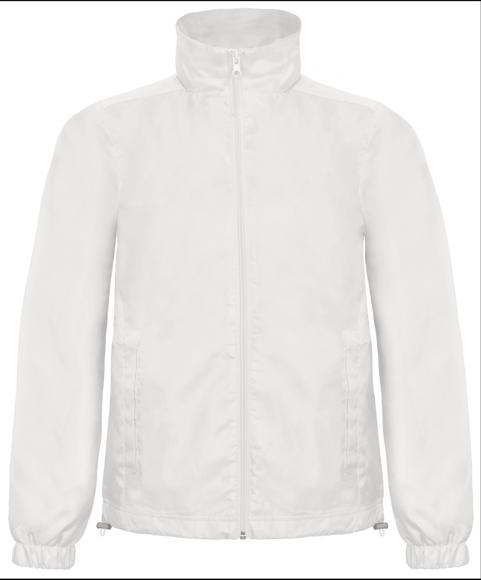 Men's Windbreaker in white