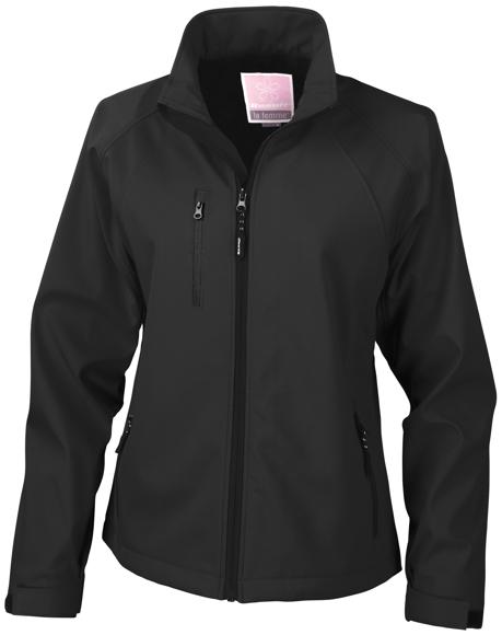 Women's Baselayer Softshell Jacket in black