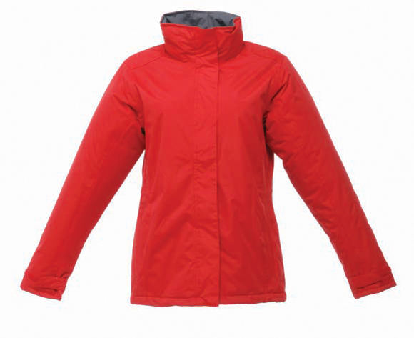Women's Beauford Insulated Jacket in red