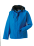 Women's Hydraplus Jacket in blue with black lining