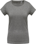 Women's Organic Cotton T-shirt in grey