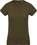 Women's Organic Cotton T-shirt in khaki