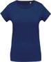 Women's Organic Cotton T-shirt in blue