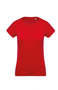 Women's Organic Cotton T-shirt in red