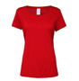 Women's Performance Core T-shirt in red