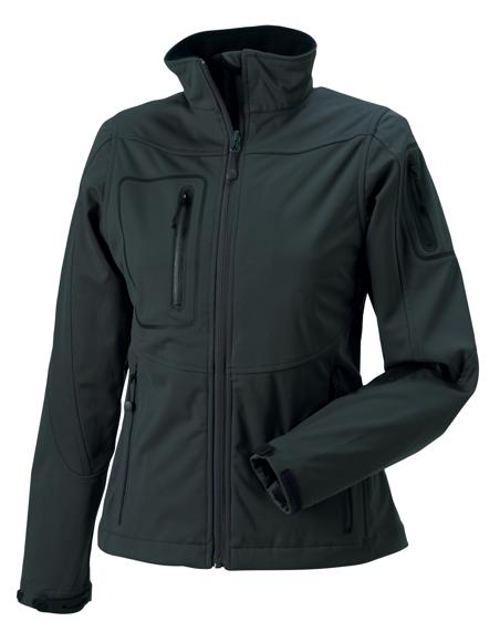Women's Sports Softshell Jacket in grey
