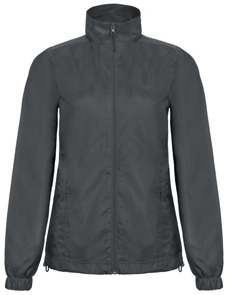 Women's Windbreaker Jacket in grey