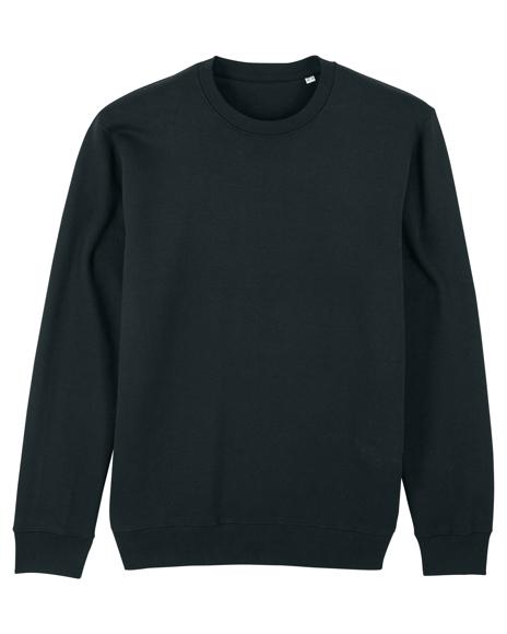 Changer Iconic Crew Neck Sweatshirt in Black