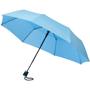 3 Section Auto Open Umbrella in light blue