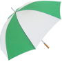 Golf Umbrella Bedford in light green and white