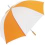Golf Umbrella Bedford in orange and white