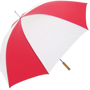 Golf Umbrella Bedford in red and white