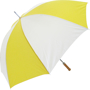 Golf Umbrella Bedford in yellow and white