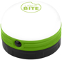 Happy Camping Lantern Light in green with 1 colour print logo