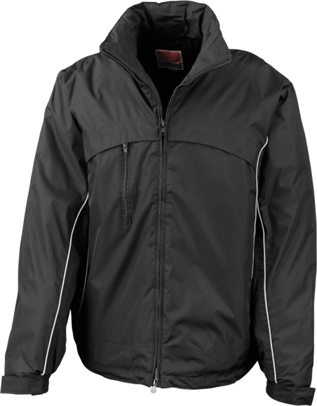 Waterproof Sailing Jacket in Black