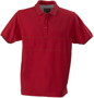 James Harves Rowlins Polo Shirt in Red