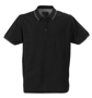 James Harves Rowlins Polo Shirt in Black