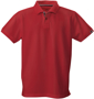 James Harvest Avon Polo Shirt in Red