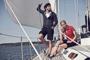 James Harvest Avon Polo Shirt Models on Yacht Image