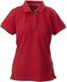 James Harvest Avon Polo Shirt Ladies Red