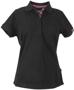 James Harvest Avon Polo Shirt Ladies Black