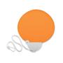 Medan Foldable Fan in orange