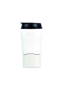 Mighty Mug Solo Travel Mug in white with black lid