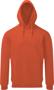 Men's coastal vintage hoodie Paprika