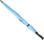 Prosport Deluxe Umbrella in blue closed